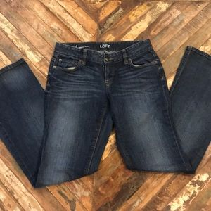 Loft Curvy Bootcut Jeans